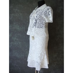 Lafei Nier spódnica biała z...