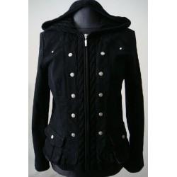 Czarna kurtka  Lafei Nier...