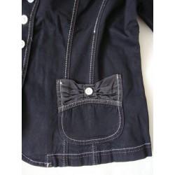 Długa spódnica Lafei Nier niebieska rozm 27 pas 72-74 cm