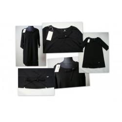 Czarna kurtka jeansowa Lafei Nier rozm. XL